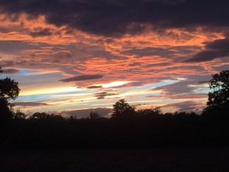 Shrewsbury sunset