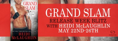 #NewRelease #Giveaway GRAND SLAM by Heidi McLaughlin