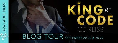 #BlogTour KING OF CODE by CD Reiss