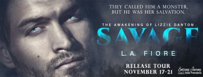 #NewRelease Savage by L.A. Fiore