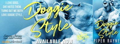 #NewRelease Doggie Style by Piper Rayne