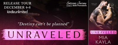 #NewRelease #Giveaway Unraveled by Mia Kayla
