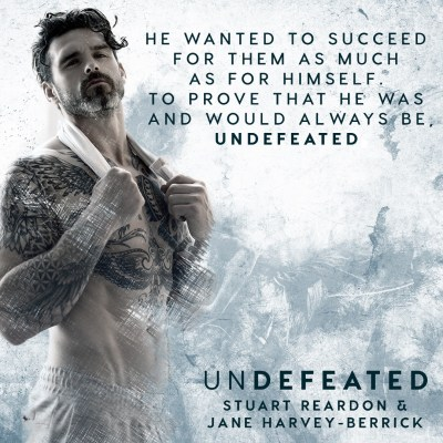 #NewRelease Undefeated by Stuart Reardon and Jane Harvey-Berrick