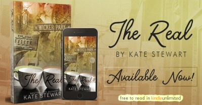 #BlogTour THE REAL by Kate Stewart