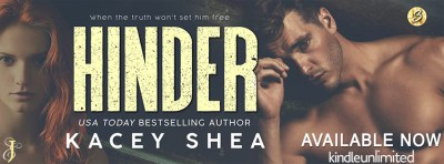 #NewRelease Hinder by Kacey Shea