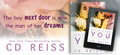 #ExcerptReveal #AuthorInterview #Giveaway ONLY EVER YOU by CD Reiss