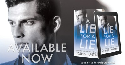 #BlogTour A Lie for a Lie by Helena Hunting