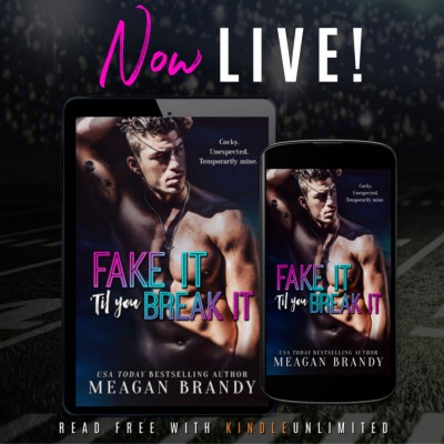 #NewRelease FAKE IT 'TIL YOU BREAK IT by MEAGAN BRANDY