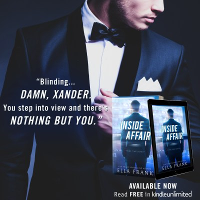 #NewRelease INSIDE AFFAIR by Ella Frank