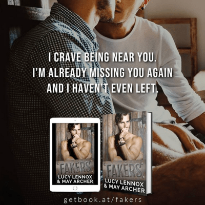 #NewRelease Fakers by Lucy Lennox & May Archer