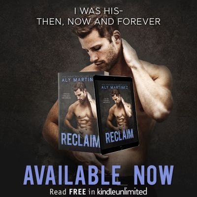 #BlogTour Reclaim by Aly Martinez