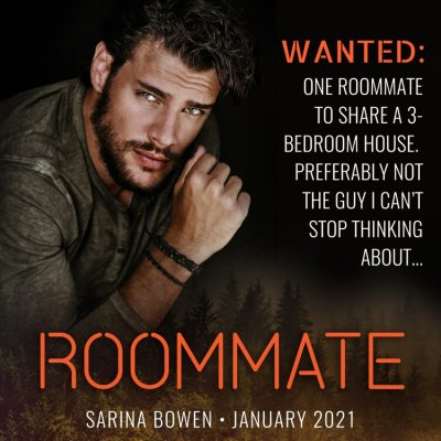 #NewRelease ROOMMATE BY SARINA BOWEN
