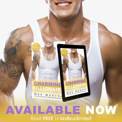 #NewRelease Charming Billionaire by Max Monroe