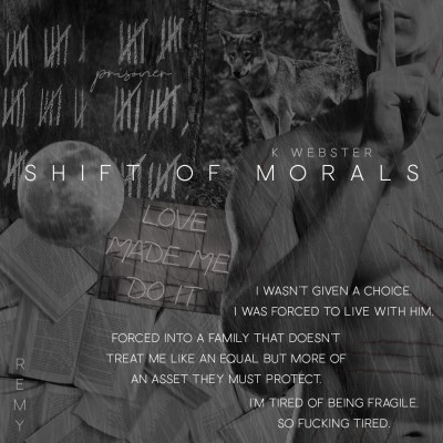 #BlogTour Shift of Morals by K Webster