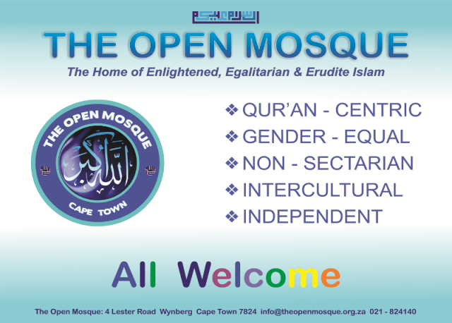 The open mosque card 2