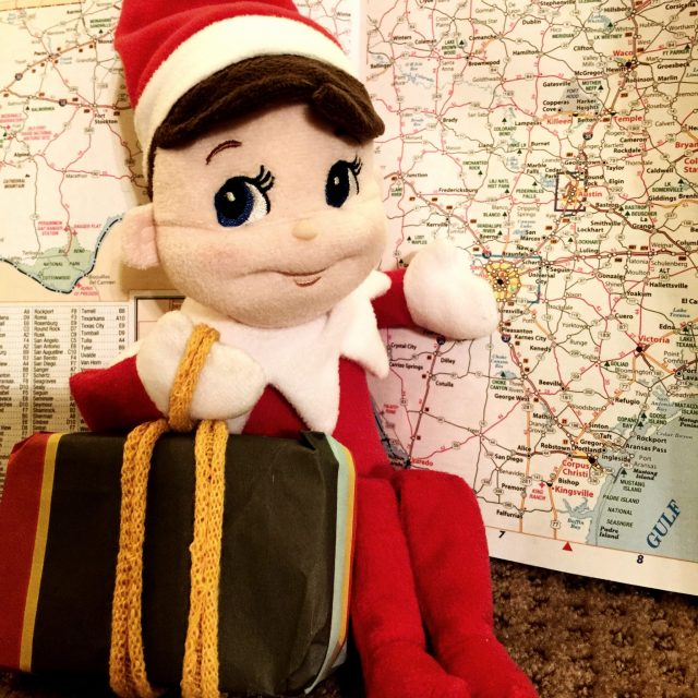 Elf on a Shelf Takes a Vacation