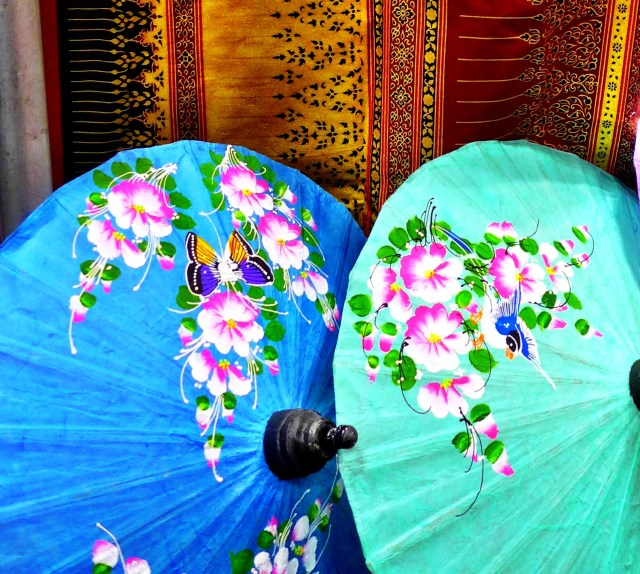 Beautiful Asian parasols