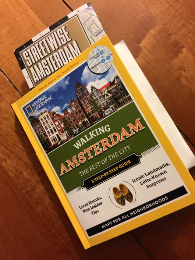 Amsterdam street map and walking guide