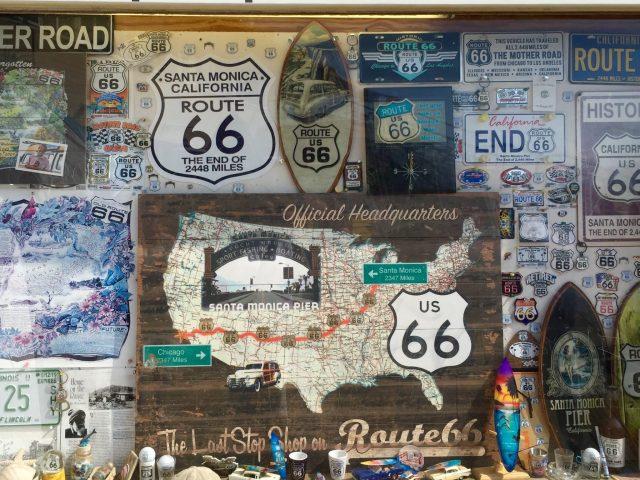 Route 66 Tribute Santa Monica Pier