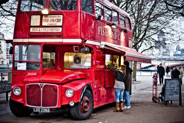 Great British food in a great British setting.