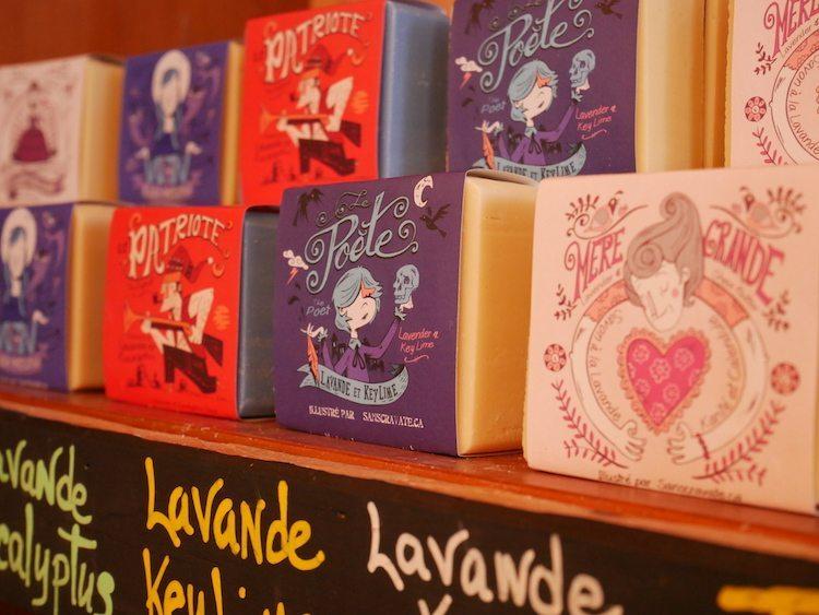 savonnerie des diligences soaps near Spa Eastman