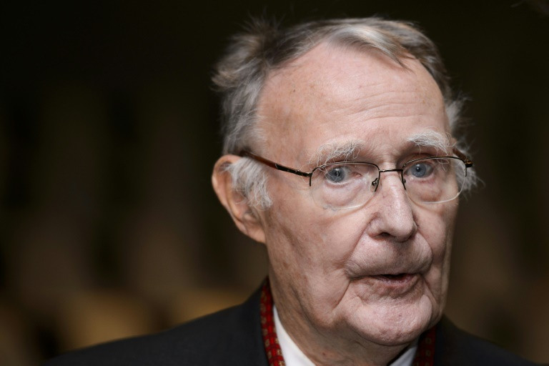 Kamprad, born to a farming family, was 17 years old when he founded IKEA