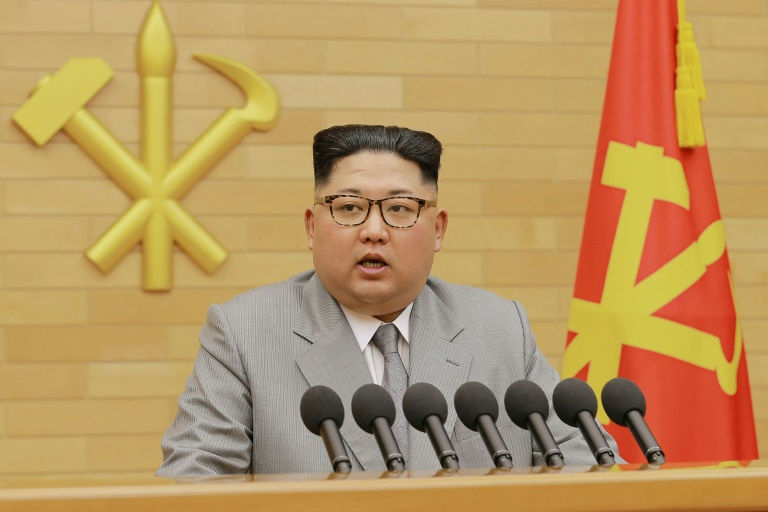 Kim jong north korea president-afp