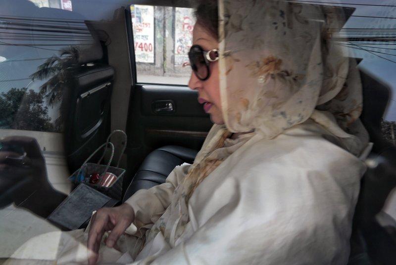 Khaleda Zia, former prime minister of bangladesh-AP