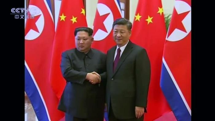 Kim Jong Un secretly met with China's Xi Jinping
