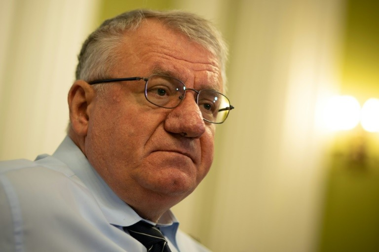 Seselj was acquitted in 2016 of nine war crimes and crimes against humanity charges after a trial lasting more than eight years.