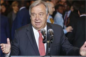 UN Secretary General Antonio Guterres-pti