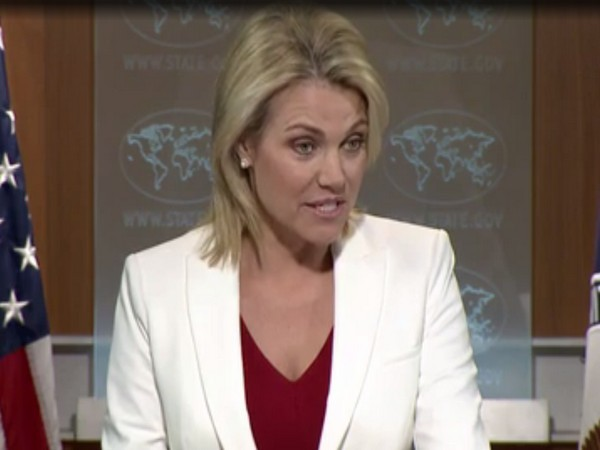 US State Department spokesperson Heather Nauert-ani