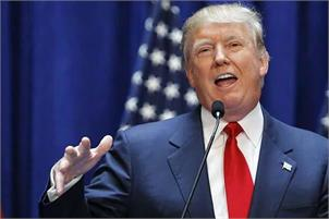 American president Trump-pti