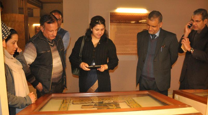 Joint Secretary Union Ministry of Culture visits SPS Museum
