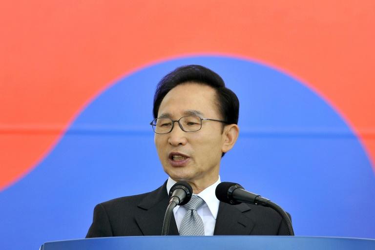 Lee Myung-bak, ex president south korea-afp