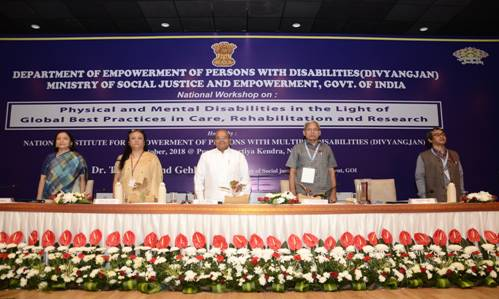 National Workshop on Physical & Mental Disabilities -pib