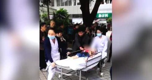 several children stabbed in chongqing-cgtn