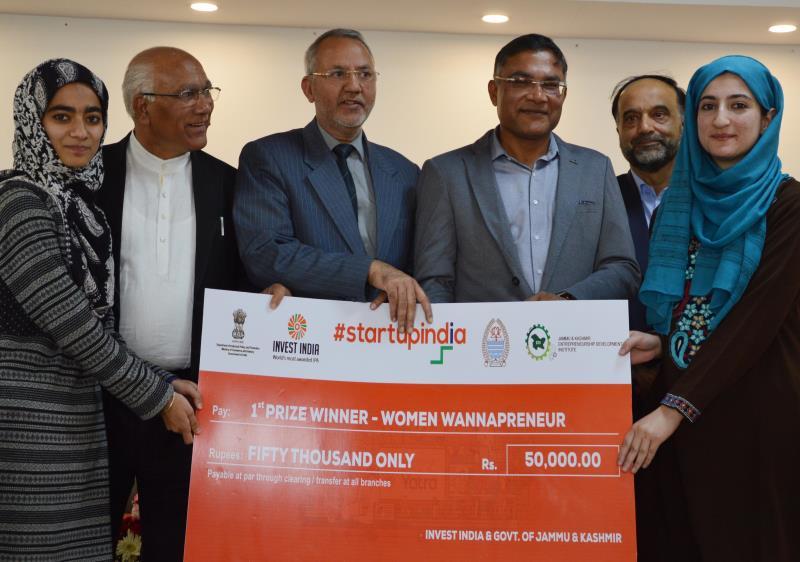 Start-up Yatra JK concludes at JKEDI-jkinf