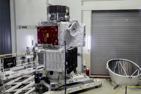 The ESA's Mercury spacecraft-afp