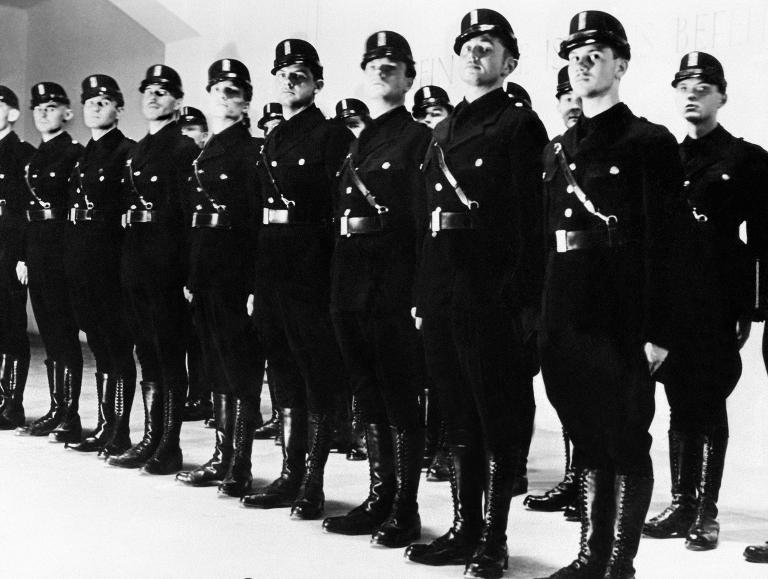 Troops of the Sturmabteilung, the German Nazi party's paramilitary, pictured in the 1930s-afp