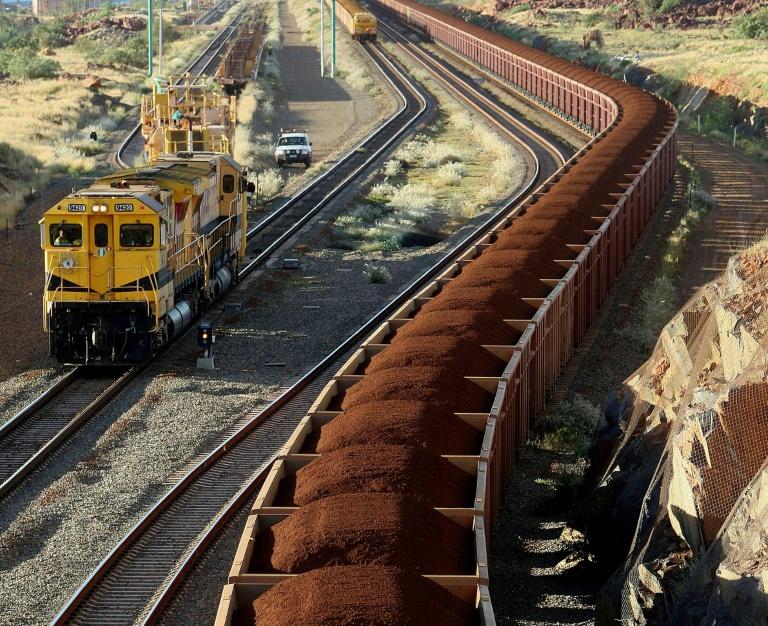 RUMWAY MINING TRAIN
