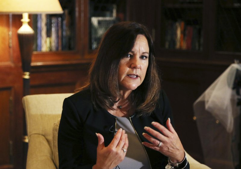 US VP's wife - AP