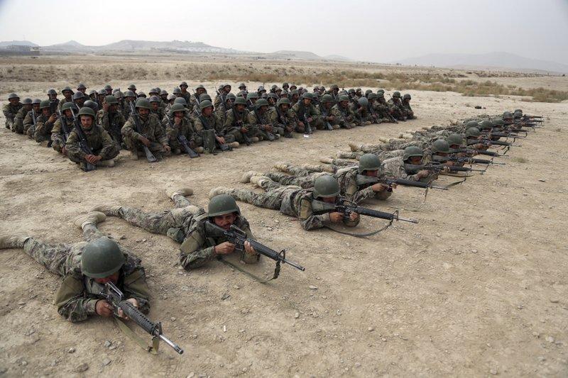 Afghans blame US