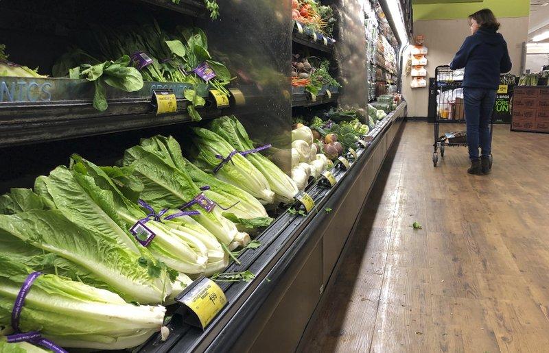 Lettuce warning looms over Thanksgiving dinner   - AP