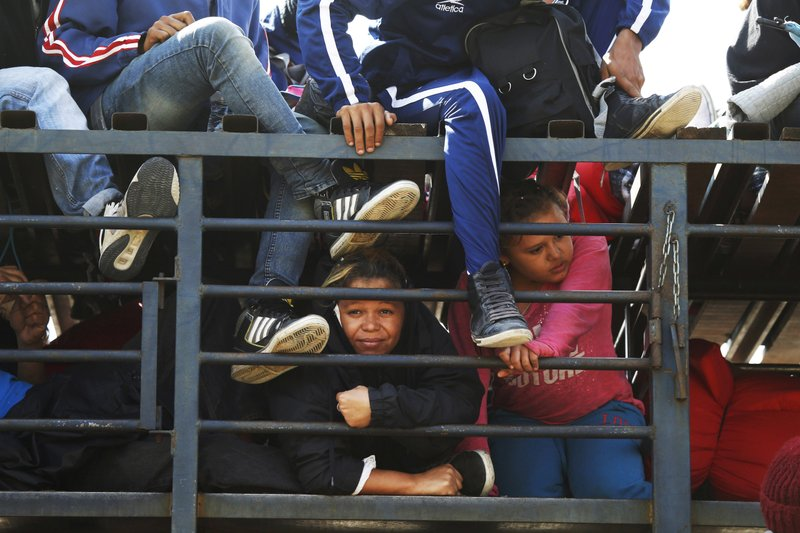 Migrant caravan- AP