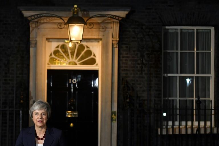 Britain's Prime Minister Theresa