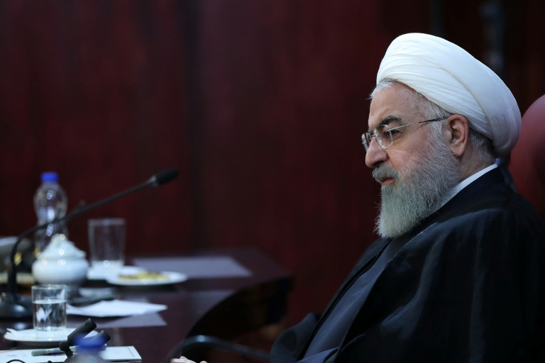Iran's President Hassan Rouhani -AFP
