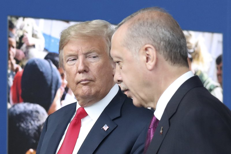 Trump call with Turkish leader led to US pullout from Syria- AP