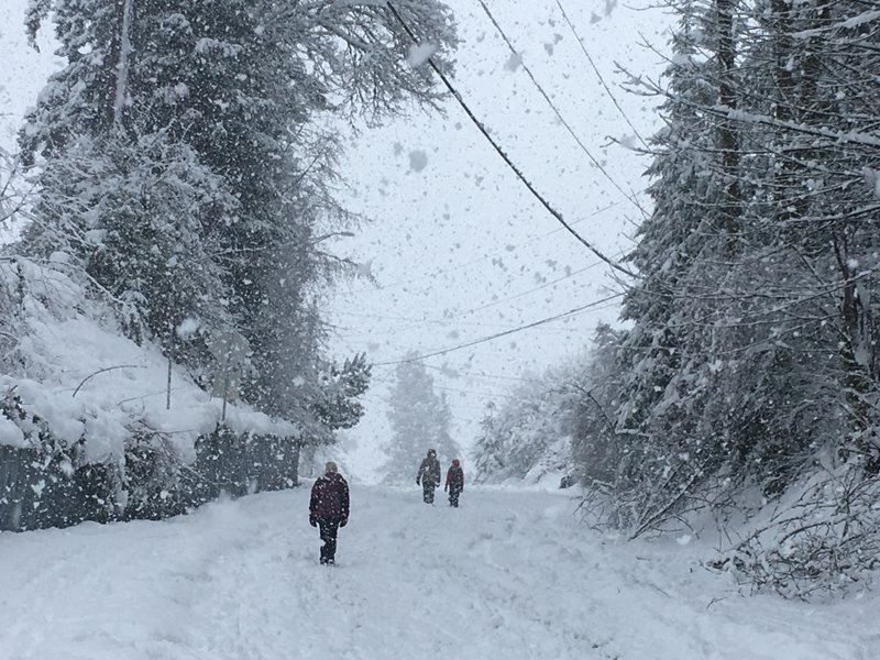 Snow slams Northwest again and even Hawaii gets some