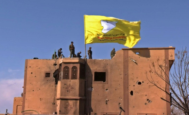 Syria force takes IS bastion, 'caliphate' wiped out